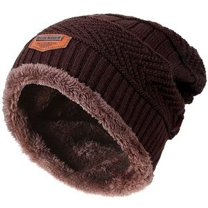 29d59223e2c Accessories - Winter Knitting Skull Cap Wool Slouchy Beanie Hat